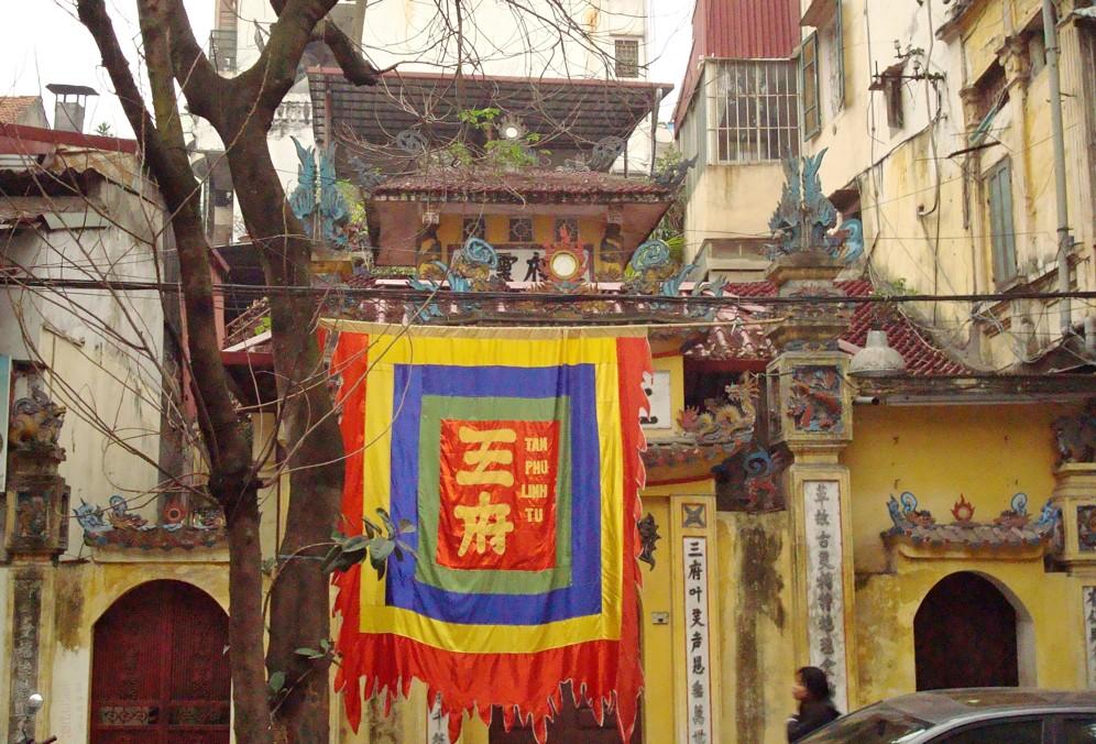 Name:Old quarter Hanoi Original source: https://commons.wikimedia.org/wiki/File:Temple_in_Old_Quarter_Hanoi.JPG