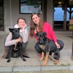 Naše dvě psí dámy...